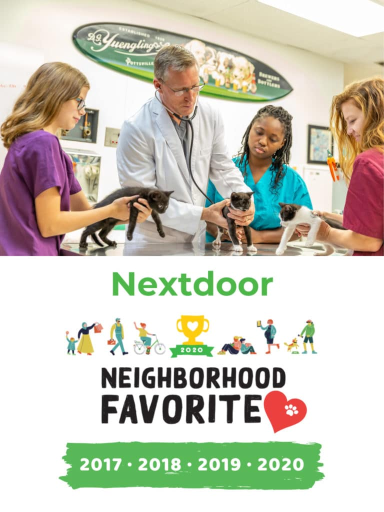 Nextdoor Neighborhood Favorite Veterinarian