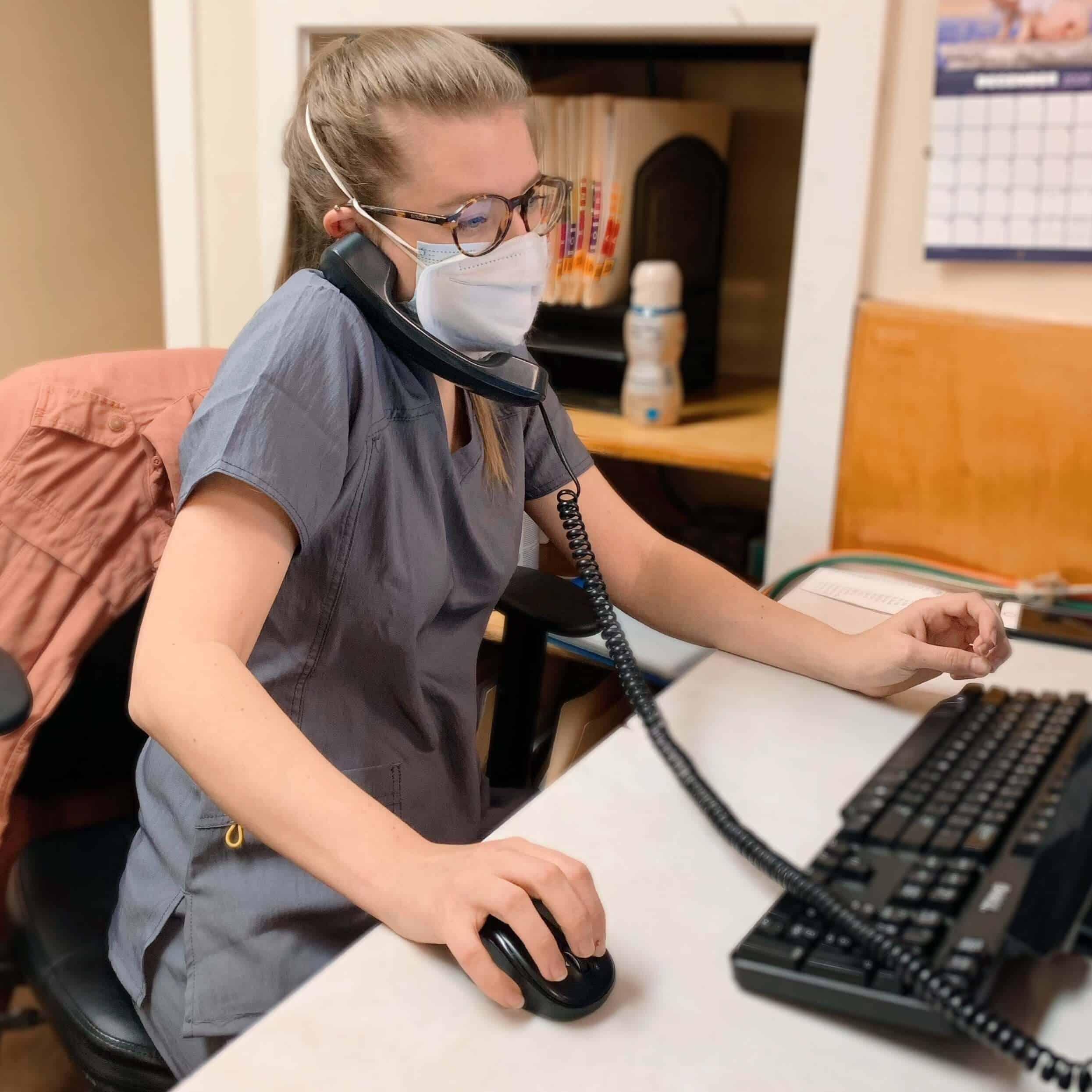 Vet Receptionist Job