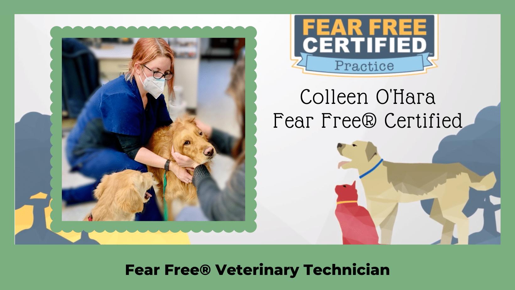 Colleen Certified Fear Free Technician